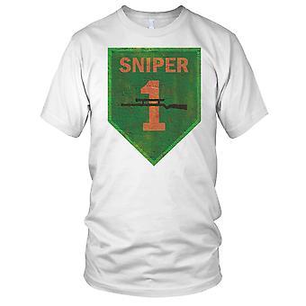 ARVN Vietnamse Ranger Flash Grunge effekt - Vietnamkrigen damer T skjorte