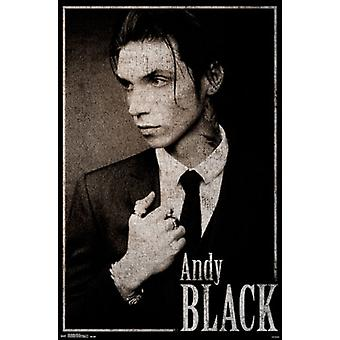 Andy Black - Black Tie Poster Poster Print