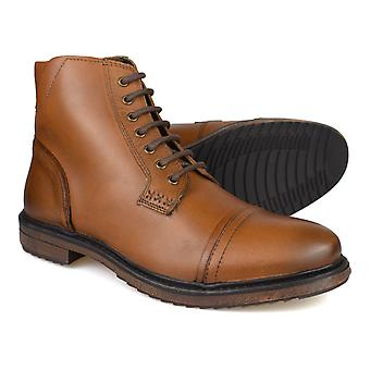Silver Street Turner Tan Leather Mens Casual Boots