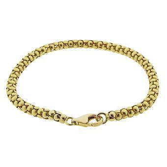 Gult guld kristna armband
