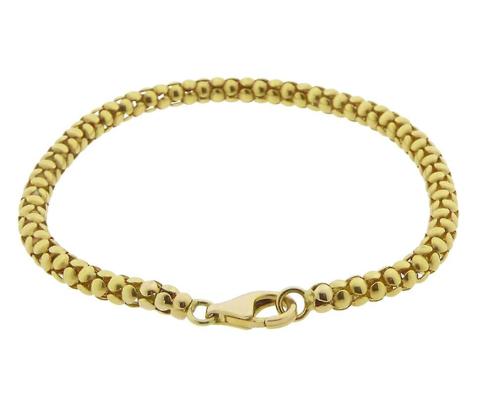 Geel gouden Christian armband