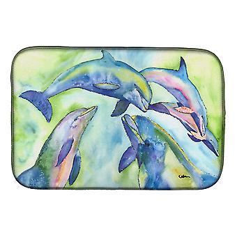 Carolines Treasures  8548DDM Dolphin Dish Drying Mat