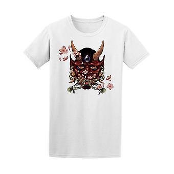 Hannya Japanin Demon Tee Men-kuva: Shutterstock