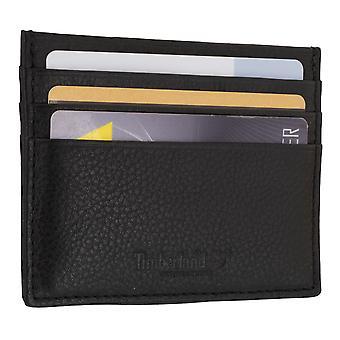 Timberland Män kreditkortsinnehavaren, Visitkortshållare, kort case svart 7104
