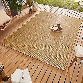 Conception Outdoorteppich Web tapis tissage plat | Or de lierre