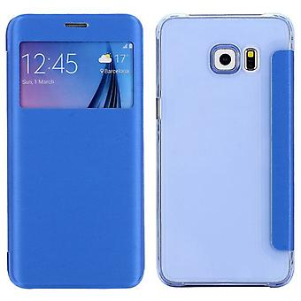 Smart cover window light blue for Samsung Galaxy S6 edge plus G928 F