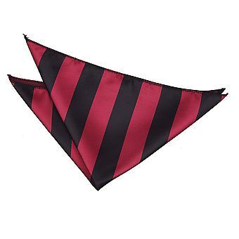 Bourgondië & Black Striped zak plein