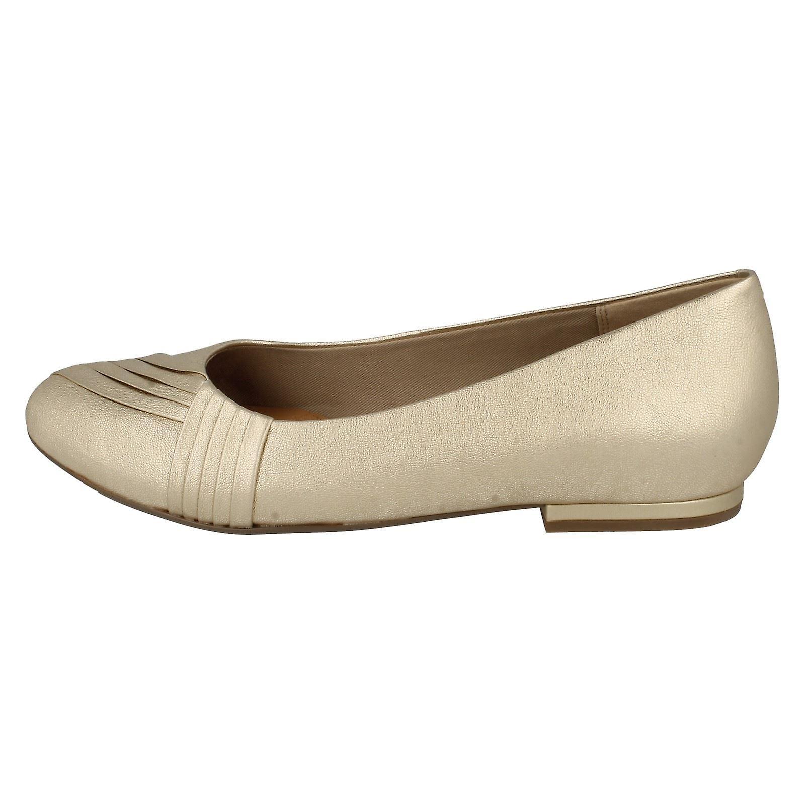 Mesdames Clarks Glisser Sur Ballet Shoes Carillon Ring