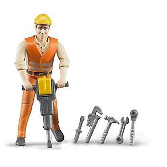 عمال البناء بوورلد الأخ مع الملحقات