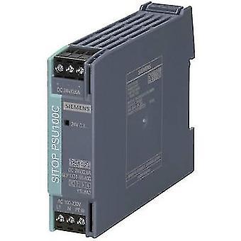 Siemens SITOP PSU100C 24 V/0,6 A Rail mounted PSU (DIN) 24 V DC 0.6 A 14 W 1 x