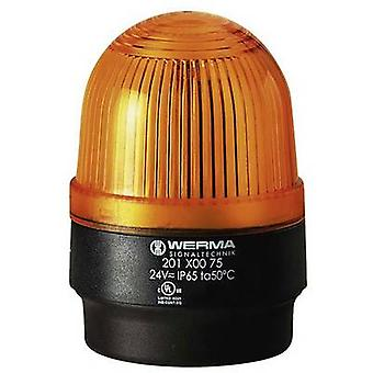 Werma Signaltechnik Luz 202.300.68 Yellow Flash 230 V AC