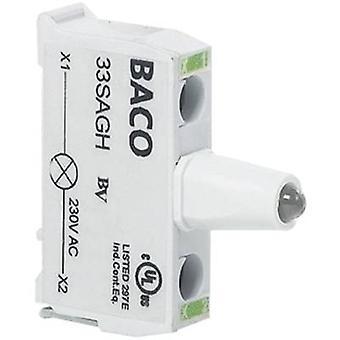 BACO BA33SAGL LED Green 12 V DC, 24 V DC 1 pc(s)