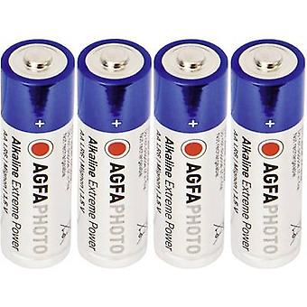 AA battery Alkali-manganese AgfaPhoto LR06 1.5 V 4 pc(s)