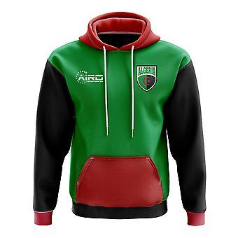 Argelia concepto país fútbol con capucha (verde)