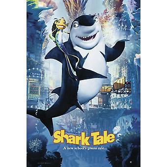 Shark Tale Poster  Hauptplakat: Oscar & Lenny (-Starring the voices of...-)
