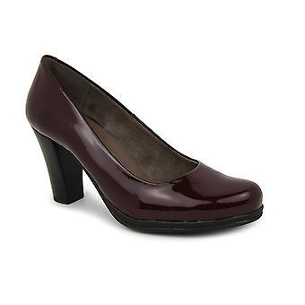 Liberitae high basic Salon Salon shoes in patent leather Bordeaux 21719466-07