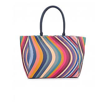 Paul Smith Akcesoria do średnich skór wirowa Shopper Bag
