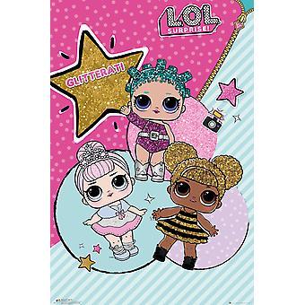 LOL overraskelse Glitterati Maxi plakat