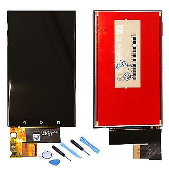עבור Blackberry KEYone ומהדורת שחור הצג יחידת LCD מלאה לגעת חלקי חילוף תיקון חדש שחור
