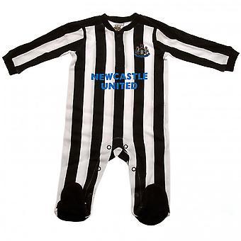 Newcastle United FC Baby ST Sleepsuit