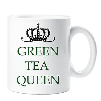 Zielona herbata Queen kubek