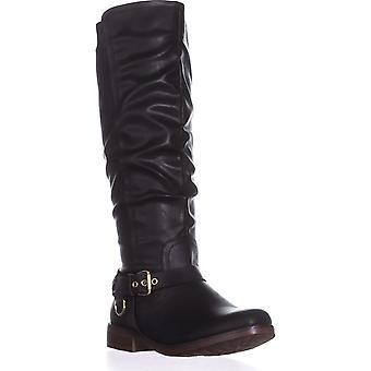 Xoxo Womens Mauricia Almond Toe Knee High Fashion Boots