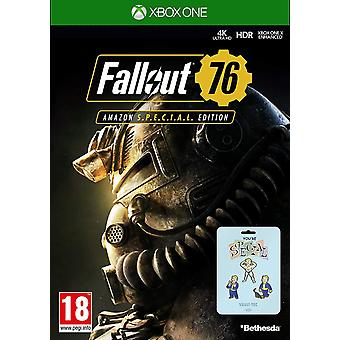 Fallout 76 (Xbox One) Game Special Edition with Exclusive Pin Badge Set