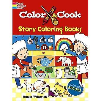 Färg & laga berättelse målarbok (Dover målarböcker för barn)