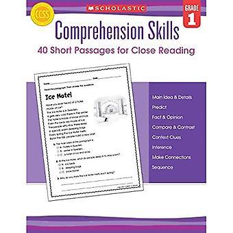 Begrip vaardigheden: Korte Passages voor Close Reading: Grade 1