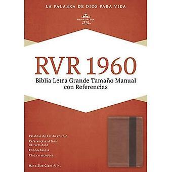 Biblia Letra Grande Tamano Manual Con Referencias-Rvr 1960