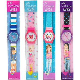 Montre de Silicone Top Model assortie - celui fourni