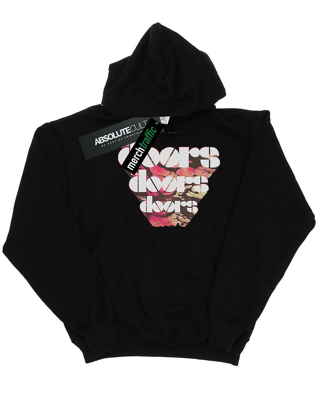 The Doors Men's Marbled Logo Hoodie