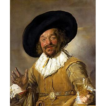 The Merry Drinker, Frans Hals, 50x40cm
