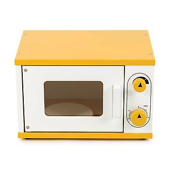 Tidlo Wooden Microwave - Pretend Play