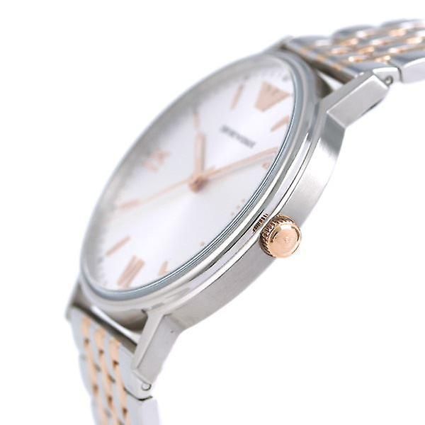Emporio Armani Mens Gents Dress Silver Wrist Watch AR11093