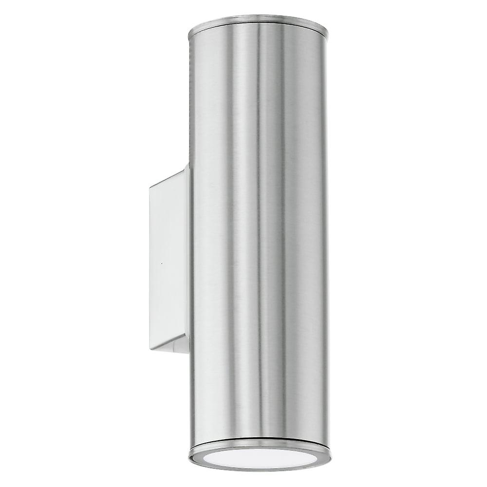Eglo Riga LED Stainless Steel Exterior Up And Down Wall Light