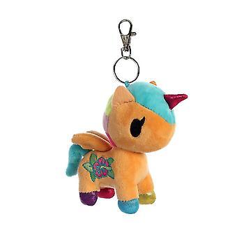 Tokidoki Kaili Unicorno Plush Key Clip 4.5