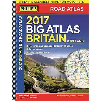Philip ' s Big Road Atlas Storbritannien och Irland-2017-9781849074155 bok