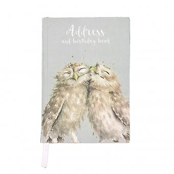 Wrendale Designs Owl Address Birthday Book