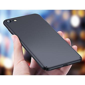 Hard matte zwarte Case-iPhone 8