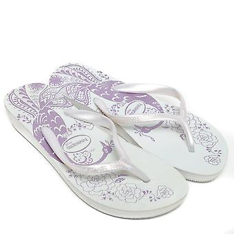 Havaianas   Havaianas High Light II Flip Flops, White