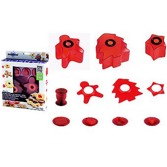 Mastrad Christmas Cookie Cutters - Stamps Set