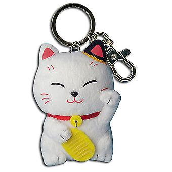 Plush Key Chain - Lucky Cat  Licensed ge38608