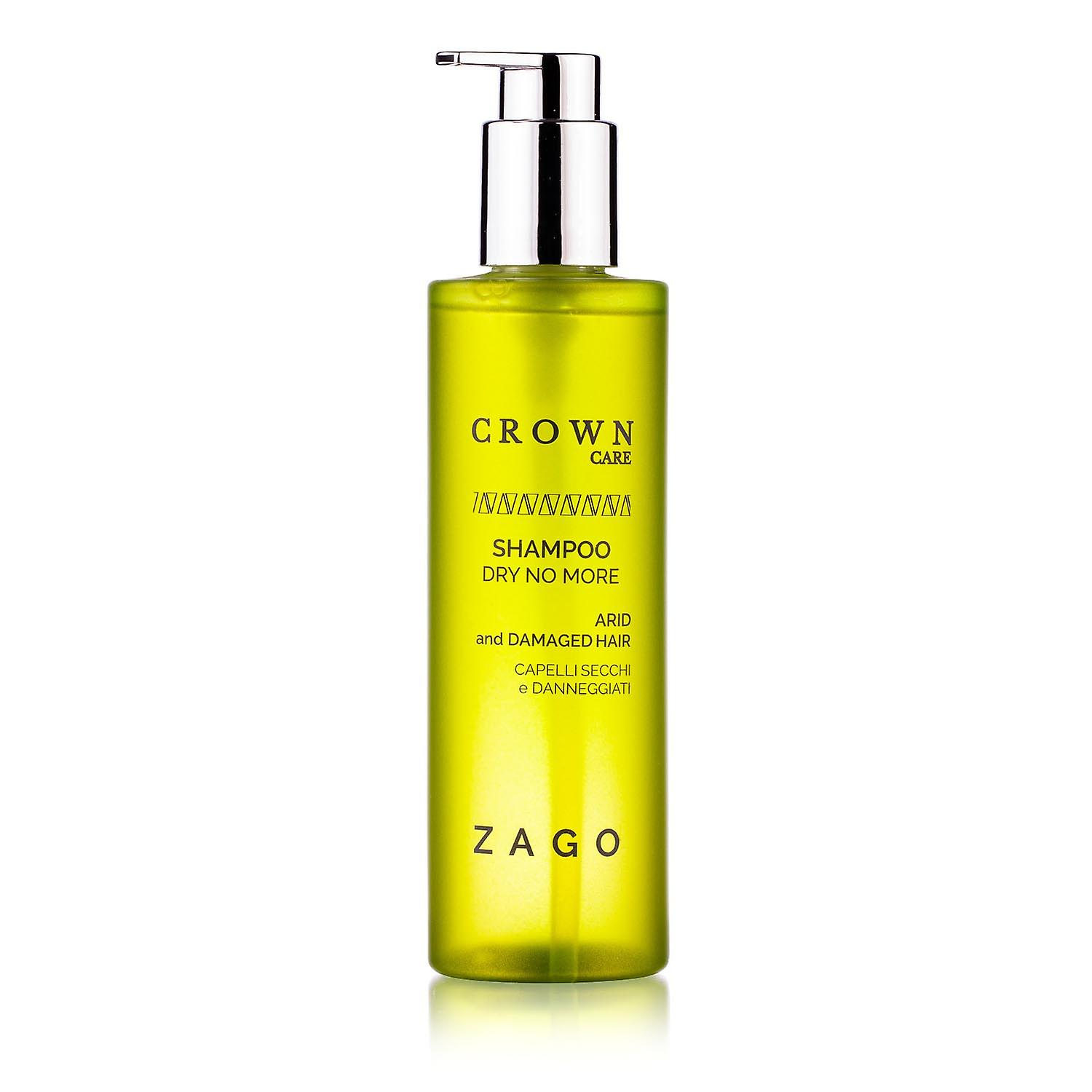 Dry No More Shampoo for Dry and Damaged Hair Crown Care