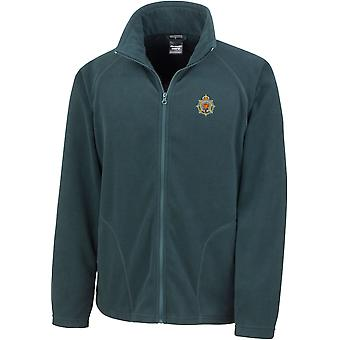 Royal Army Service Corps-licenseret British Army broderet letvægts Micro fleece jakke