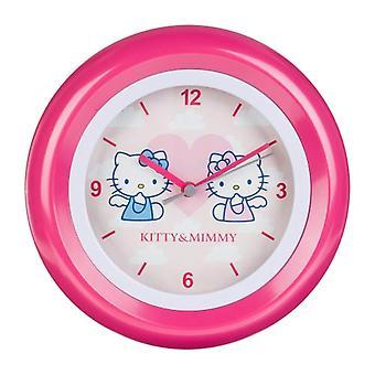 Bonjour Kitty Clock Girl ref. HK28-5
