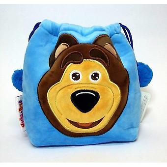 Pehmo laukku Masha ja sininen Karhu