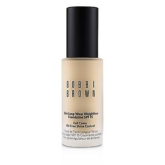 Bobbi Brown Skin Long Wear Weightless Foundation Spf 15 - # Alabaster - 30ml/1oz