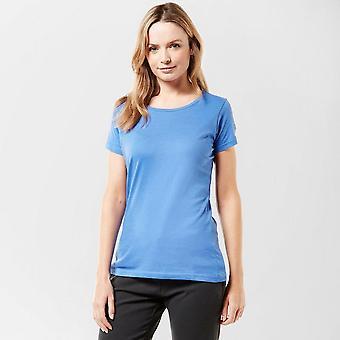 New Regatta Women's Plain Short Sleeve Tee Blue