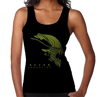 Alien Isolation Xenomorph Head Women's Vest